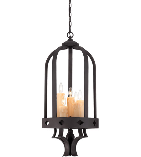 Savoy House Torre 5 Light Foyer in Forged Black 3-4401-5-17 photo