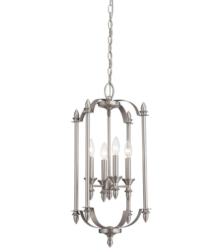 Savoy House Aldrich 4 Light Foyer in Pewter 3-4500-4-69 photo