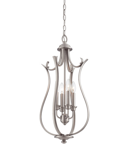 Savoy House Macree 4 Light Foyer in Pewter 3-4502-4-69 photo