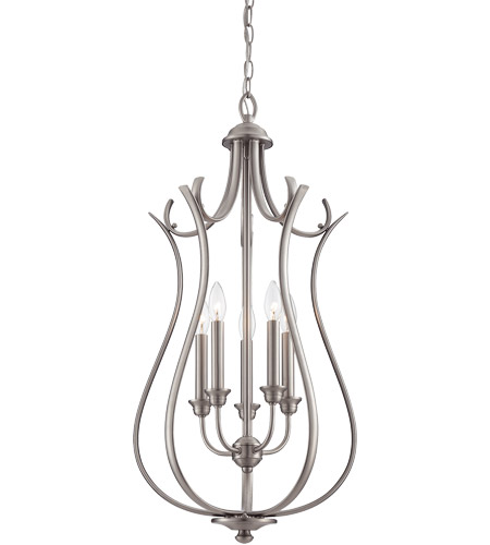Savoy House Macree 5 Light Foyer in Pewter 3-4503-5-69