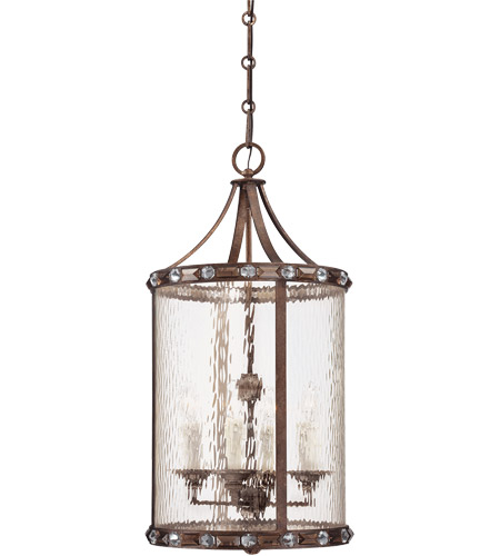 Savoy House Paragon 4 Light Foyer in Guilded Bronze 3-6037-4-131 photo