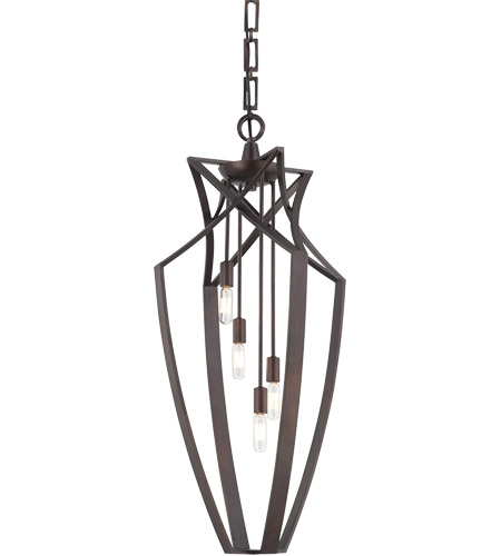 Savoy House Windsung 4 Light Foyer Pendant in English Bronze 3-6821-4-13