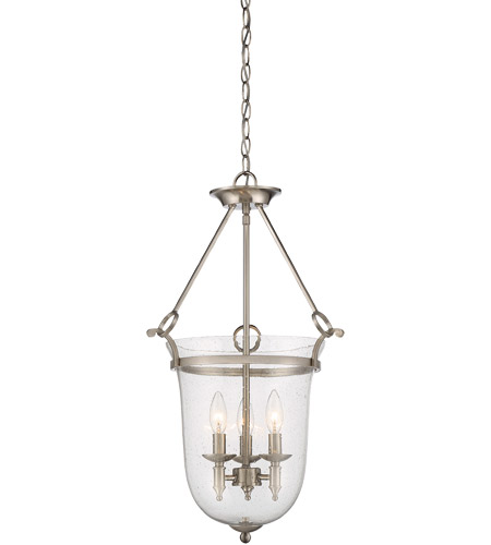 Savoy House 3-7132-3-SN Trudy 3 Light 16 inch Satin Nickel Pendant Ceiling Light photo