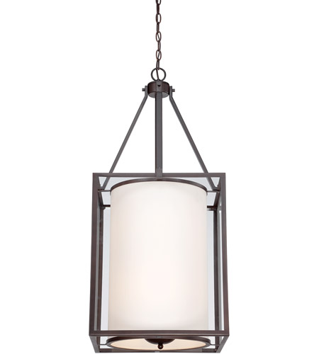Savoy House Aston 6 Light Foyer in English Bronze 3-7642-6-13 photo