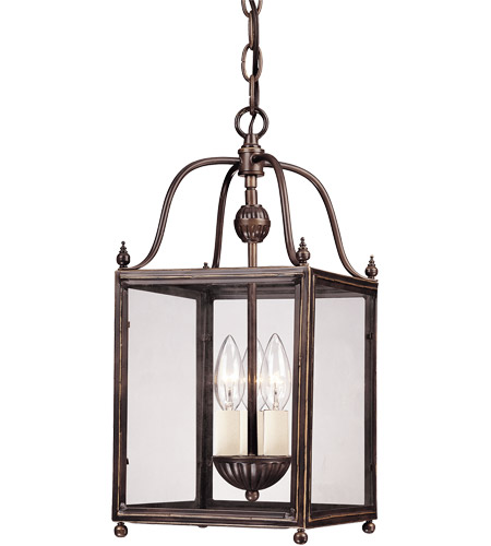 Savoy House 3-80029-3-323 Crabapple 3 Light 8 inch Old Bronze Foyer Ceiling Light photo