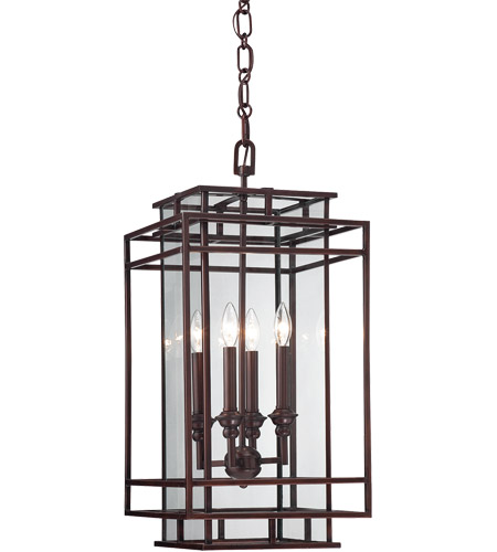 Savoy House Harmony 4 Light Foyer in Mohican Bronze 3-8203-4-121