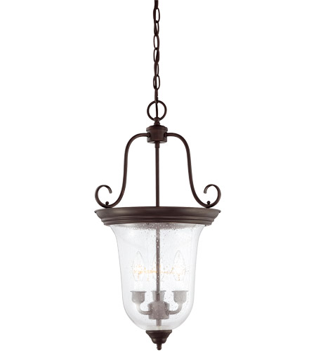 Savoy House Signature 3 Light Foyer Light in English Bronze 3-8521-3-13 photo