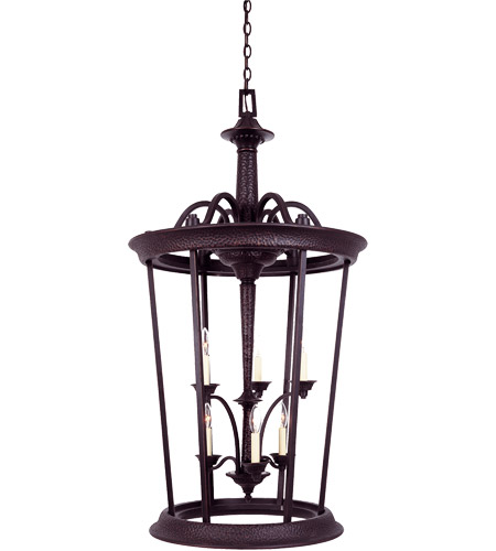 Savoy House Entry Lanterns Venetian Guild Open Foyer in Slate 3-9415-6-25 photo