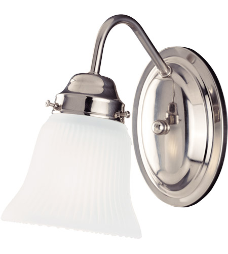Savoy House Brighton 1 Light Vanity Light in Satin Nickel 3281-SN