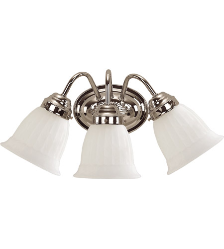 Savoy House 3283-CH Brighton 3 Light 11 inch Chrome Vanity Light Wall Light photo