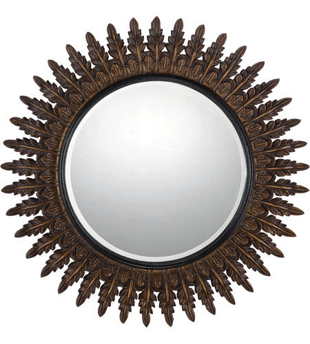 Savoy House 4-AGFC05015-214 Elizabeth 41 X 41 inch Rich Bronze with Gold Highlights Mirror Home Decor photo