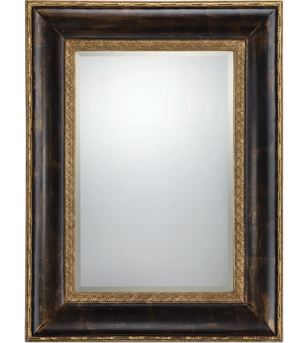 Savoy House Victoria Mirror in Dark Bronze with Gold Accents 4-BLG2819-212