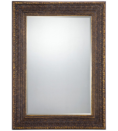 Savoy House Lighting Alexandra Mirror in Bronze with Gold Accents 4-F1620-156 photo