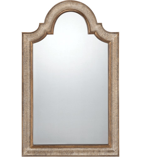Savoy House 4-F259-158 Rylee 55 X 35 inch Silver with Gold Accents Mirror Home Decor photo