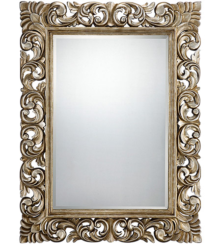 Savoy House 4-SF05141-209 Laurie 52 X 40 inch Silver Mirror Home Decor photo