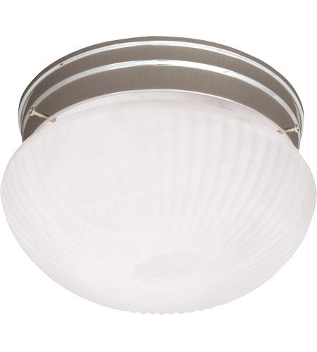 Savoy House Signature 1 Light Flush Mount in Satin Nickel 400-SN photo
