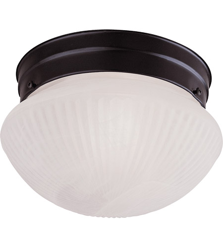 Savoy House Signature 2 Light Flush Mount in Flat Black 403-31