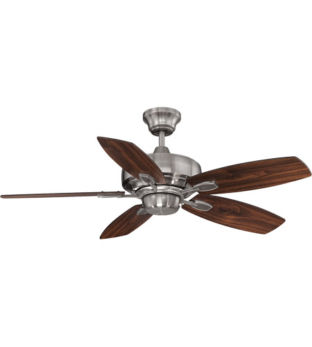 Savoy House Wind Star Ceiling Fan in Brushed Pewter 42-830-5RV-187