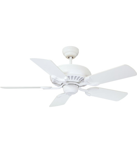 Savoy House Pine Harbor Ceiling Fan in Matte White 42-SGC-5RV-80