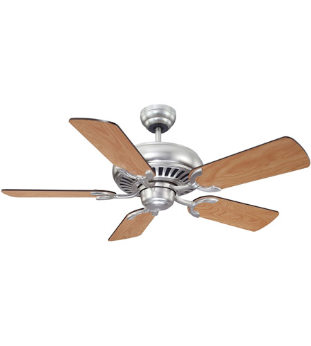 Savoy House Pine Harbor Ceiling Fan in Satin Nickel 42-SGC-5RV-SN photo