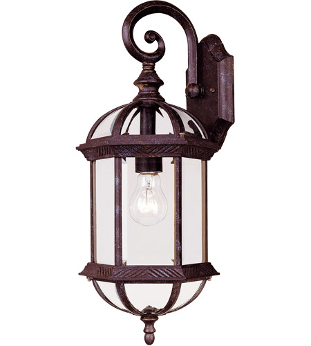 Savoy House 5-0630-72 Kensington 1 Light 20 inch Rustic Bronze Outdoor Wall Lantern photo