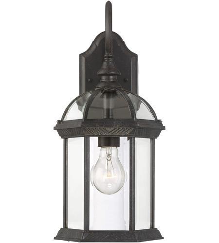 Savoy House Kensington 1 Light Outdoor Wall Lantern in Rustic Bronze 5-0633-72