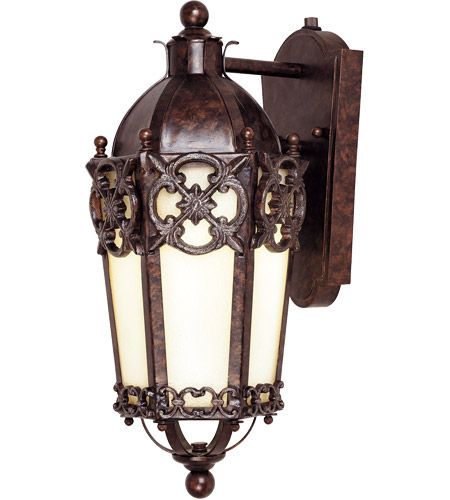 Savoy House Loire Valley Torino Energy Star Wall Mount Lantern in New Tortoise Shell w/Silver 5-1059-ES-8 photo