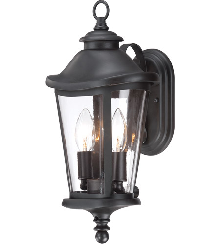 Savoy House Freemont 2 Light Outdoor Wall Lantern in Black 5-1141-BK photo
