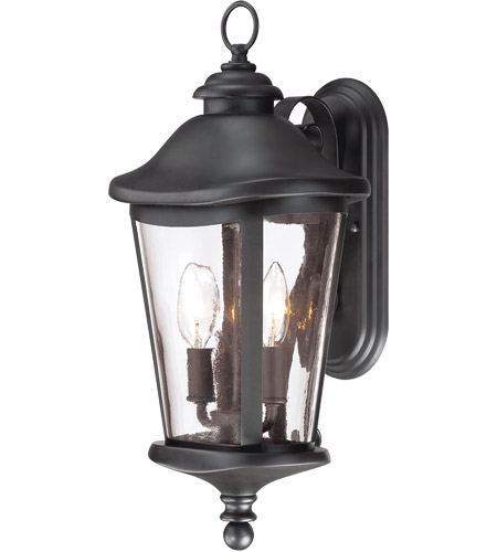 Savoy House Freemont 2 Light Outdoor Wall Lantern in Black 5-1142-BK