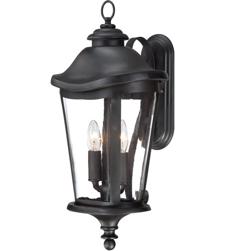 Savoy House Freemont 2 Light Outdoor Wall Lantern in Black 5-1143-BK photo