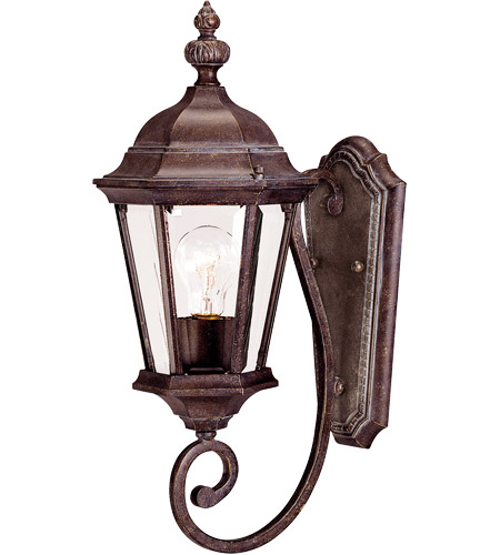 Savoy House Wakefield 1 Light Outdoor Wall Lantern in Walnut Patina 5-1302-40