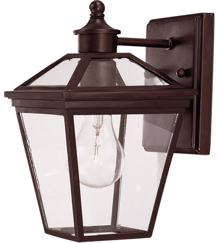 Savoy House Ellijay 1 Light Wall Lantern in English Bronze 5-140-13 photo