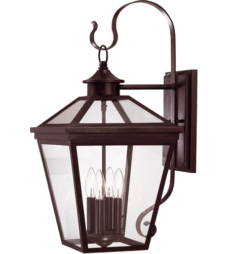 Savoy House Ellijay 4 Light Outdoor Wall Lantern in English Bronze 5-142-13