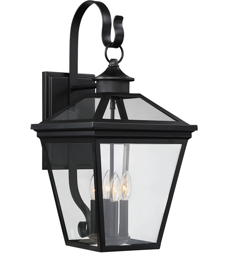 Savoy House 5-142-BK Ellijay 4 Light 25 inch Black Outdoor Wall Lantern photo
