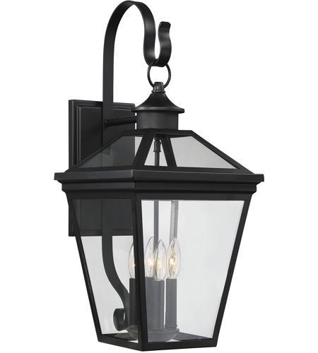 sc 1 st  Savoy Lighting & Savoy House 5-142-BK Ellijay 4 Light 25 inch Black Outdoor Wall Lantern