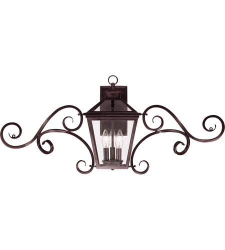 Savoy House Ellijay 3 Light Outdoor Wall Lantern in English Bronze 5-143-13 photo