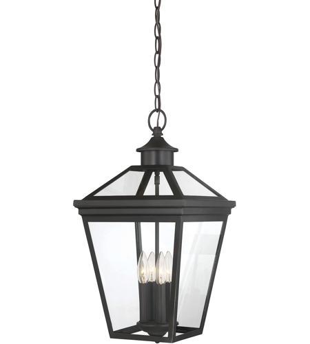 Savoy House 5 145 13 Ellijay 4 Light 12 Inch English Bronze Outdoor Hanging  Lantern