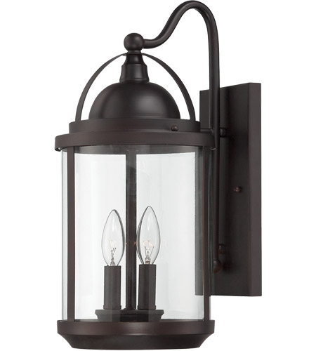 Savoy House 5-201-2-13 Drayton 2 Light 18 inch English Bronze Outdoor Wall Lantern photo