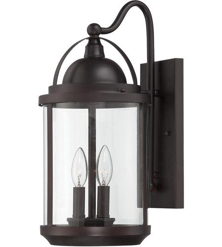 Savoy House Drayton 2 Light Outdoor Wall Lantern in English Bronze 5-201-2-13