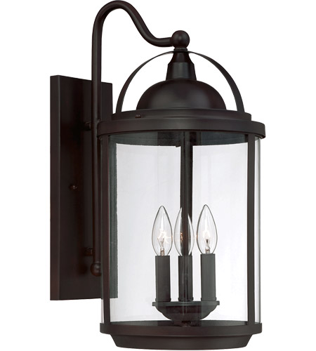 Savoy House Drayton 3 Light Outdoor Wall Lantern in English Bronze 5-202-3-13