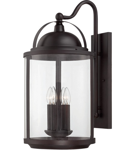 Savoy House Drayton 4 Light Outdoor Wall Lantern in English Bronze 5-203-4-13