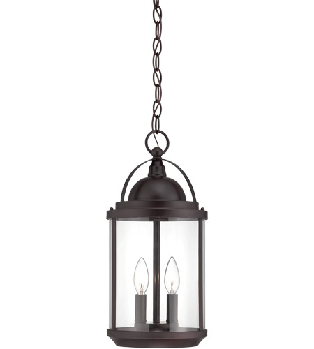 Savoy House Drayton 2 Light Outdoor Hanging Lantern in English Bronze 5-204-2-13