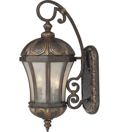 Savoy House 5-2500-306 Ponce de Leon 3 Light 23 inch Old Tuscan Outdoor Wall Lantern photo