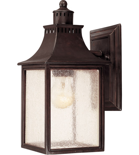 Savoy House 5-254-13 Monte Grande 1 Light 12 inch English Bronze Outdoor Wall Lantern photo