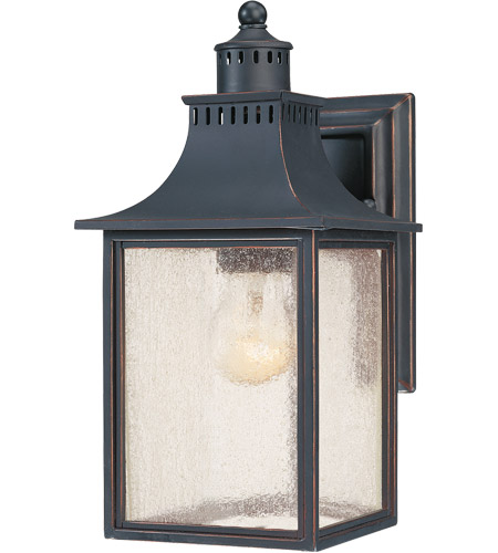 Savoy House Monte Grande 1 Light Outdoor Wall Lantern in Slate 5-254-25