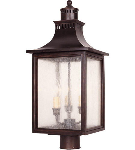 Savoy house 5 255 13 monte grande 3 light 24 inch english bronze savoy house 5 255 13 monte grande 3 light 24 inch english bronze outdoor post lantern mozeypictures Gallery