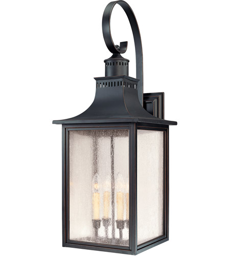 Savoy House Monte Grande 4 Light Outdoor Wall Lantern in Slate 5-257-25
