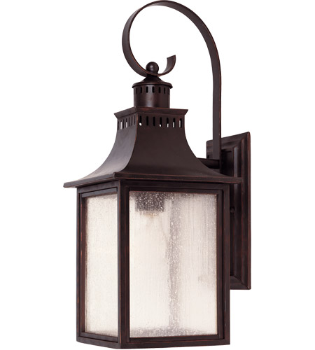 Savoy House 5-258-13 Monte Grande 1 Light 18 inch English Bronze Outdoor Wall Lantern photo