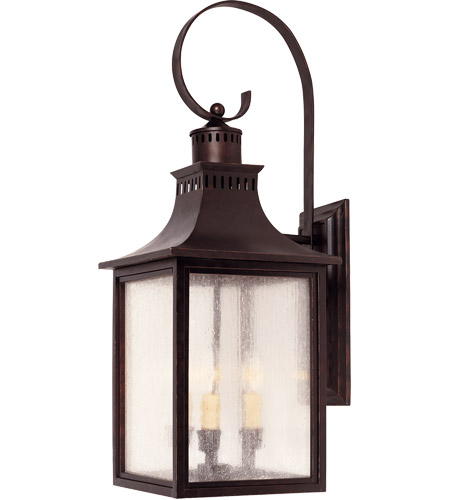 Savoy House 5-259-13 Monte Grande 3 Light 27 inch English Bronze Outdoor Wall Lantern photo thumbnail