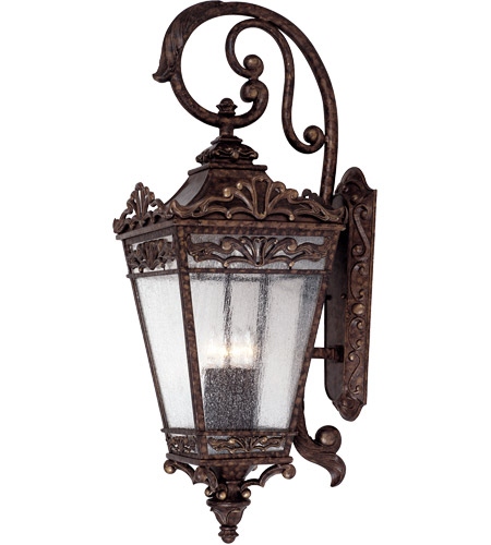 Savoy House Maguire 4 Light Outdoor Wall Lantern in New Tortoise Shell 5-3303-56 photo